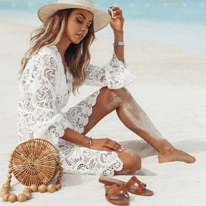 GORGEOUS ♡ LACEY COVER UP • TUNIC • SUN DRESS